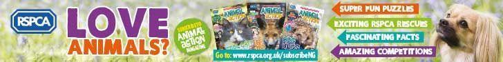 RSPCA June -August 2021 Banner