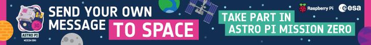 RASPBERRY PI – SPACE OCT 2021